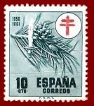 Sellos de Europa - España -  Edifil 1085 Pro tuberculosos 0,10