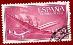 Stamps Spain -  Edifil 1174 Superconstellation 1,40 aéreo