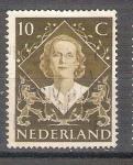 Sellos de Europa - Holanda -  ascensión al trono de la reina Juliana Y497