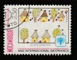 Stamps Mozambique -  Año internacional de la infancia