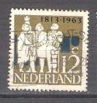 Sellos de Europa - Holanda -  restablecimiento de la independencia Y789