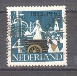Sellos de Europa - Holanda -  restablecimiento de la independencia Y787