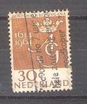 Sellos del Mundo : Europa : Holanda :  RESERVADO JAVIER AVILA 350 aniversario de la universidad de Groningen Y796