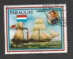 Sellos de America - Paraguay -  Embarcación Principe Carlos
