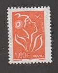 Stamps France -  imagen estilizada