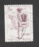 Stamps Sweden -  Niño de pie