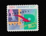 Stamps New Zealand -  La gente alcanza a la gente