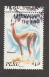 Sellos de America - Perú -  Guanaco