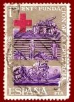Sellos de Europa - España -  Edifil 1534 Centenario fundación Cruz Roja 1
