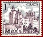 Stamps Spain -  Edifil 1546 Alcázar de Segovia 1