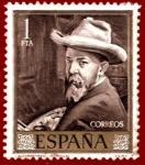 Sellos de Europa - España -  Edifil 1570 Autorretrato (Sorolla) 1