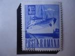 Stamps Romania -  transylvania - Buque de Pasajeros. Serie Postal y Transporte.
