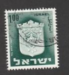 Stamps Israel -  Escudo de Tel Avic-Yafo