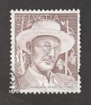 Stamps Switzerland -  Hermsnn Hesse