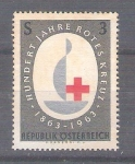 Sellos de Europa - Austria -  RESERVADO JOAQUIN Cent. Cruz Roja Int. Y973