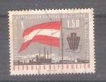 Sellos del Mundo : Europa : Austria : RESERVADO CHALS 5ºcongreso federal de sindicatos Y970