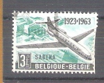 Sellos de Europa - Bélgica -  40 aniversario de sabena Y1259