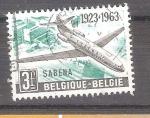 Sellos del Mundo : Europa : Bélgica :  RESERVADO JAVIER AVILA 40 aniversario de sabena Y1259