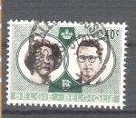 Sellos de Europa - Bélgica -  matrimonio real Y1169