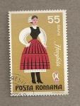 Stamps Europe - Romania -  Traje regional