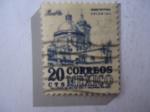 Sellos de America - México -  Catedral de puebla- Arquitectura Colonial.