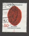 Stamps Germany -  500 años de ña Universidad de Mainz
