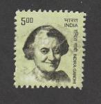 Sellos de Asia - India -  Indira Gandhi