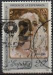 Stamps Spain -  Coronacion Canoniga d´l´imagen d´l´Vigen d´l´Esperanza, Malaga