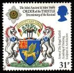 Stamps United Kingdom -  Escudos