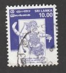 Stamps Sri Lanka -  Danza tradicional