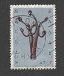 Stamps Greece -  Percha de dos brazos