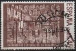 Stamps Spain -  Ciudades y Monumentos españoles Patrimonio d´l´Humanidad