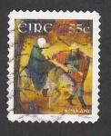 Sellos de Europa - Irlanda -  Huida a Egipto por Nollaig