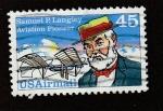 Sellos de America - Estados Unidos -  Samul P. Langley, pionero de la aviación