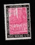 Stamps Oceania - Vanuatu -  Concilio Vaticano II
