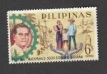 Stamps Philippines -  Programa socio-economico de l presidente Macapagal