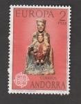 Sellos de Europa - Andorra -  La Virgen de Ordino