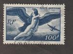 Sellos de Europa - Francia -  Aguila transportado a una mujer