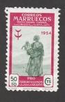 Stamps Morocco -  Pro tuberculosos
