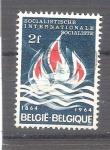 Sellos de Europa - Bélgica -  RESERVADO JAVIER AVILA Interrnacional Socialista Y1292