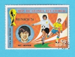 Stamps : Africa : Equatorial_Guinea :  MUNICH  74   BEST