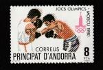 Sellos de Europa - Andorra -  Juegos Olímpicos Moscú 1980