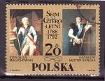 Stamps : Europe : Poland :  Bicentenario de la dieta Quadrenal
