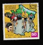 Sellos de Africa - Guinea Ecuatorial -  Tour de Francia 1972