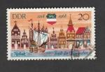 Sellos de Europa - Alemania -  Ciudad de Rostock