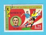 Sellos del Mundo : Africa : Guinea_Ecuatorial : MUNICH  74   RIVA