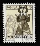 Stamps Poland -  Signo del zodíaco