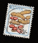 Sellos de Africa - Kenya -  Cacahuetes