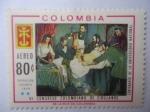 Stamps Colombia -  Operación Cesarea 1844 - VI Congreso Colombiano de Cirujanos - Centenario de la Universidad Nacional