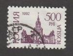 Stamps Russia -  Iglesia
